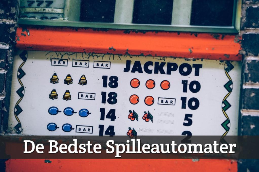 De Bedste Spilleautomater