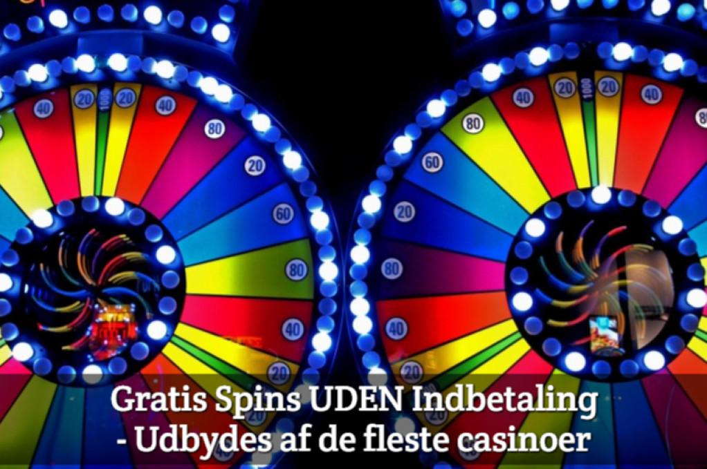 Gratis Spins UDEN Indbetaling – Udbydes af de fleste casinoer