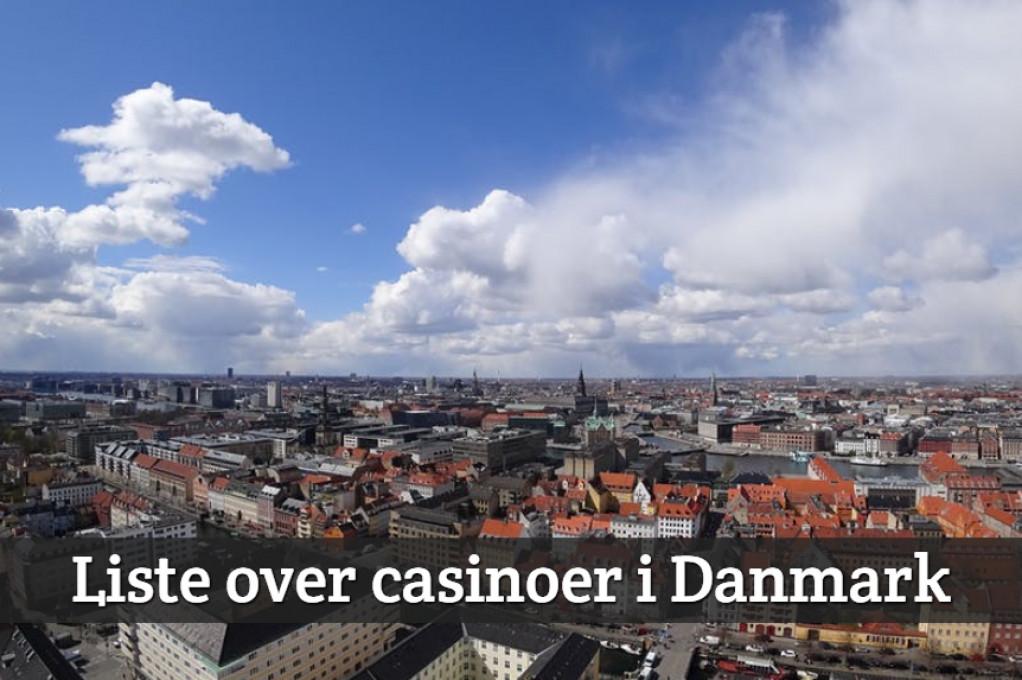 Liste over casinoer i Danmark